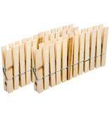 wasknijpers 24 - 8.5 cm hout