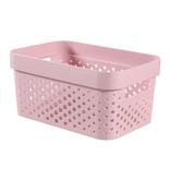 INFINITY BOX 4.5L DOTS roze