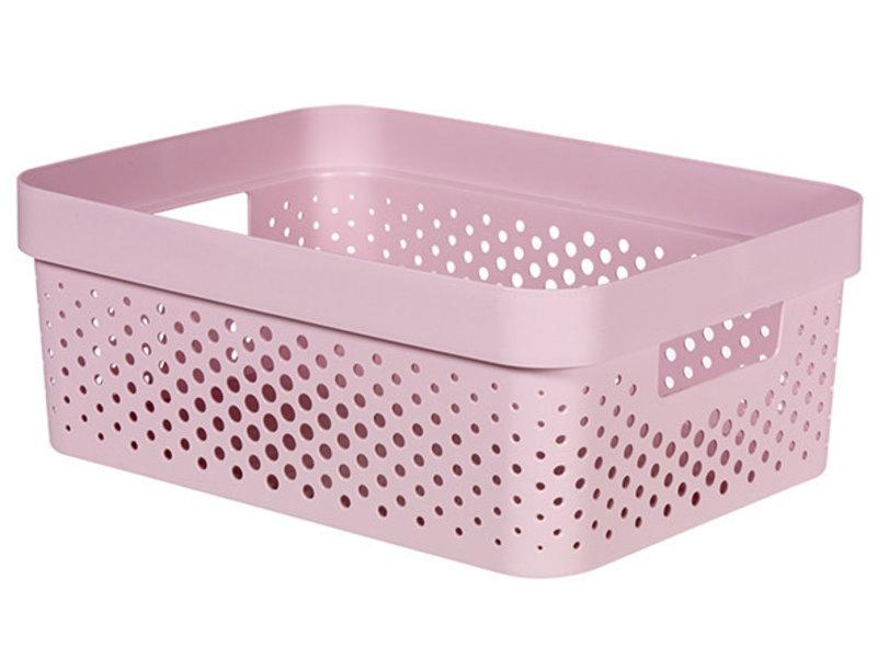 INFINITY BOX 11L DOTS roze