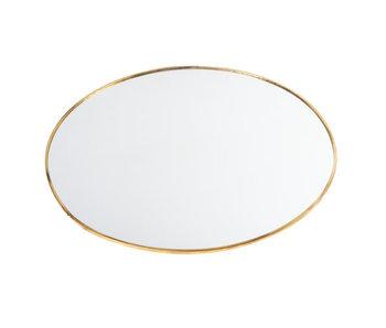 Spiegel goud glas | H30 cm