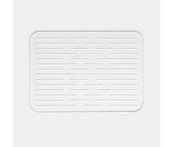 BRABANTIA Support vaisselle en silicone  gris clair