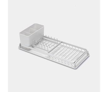 BRABANTIA Compact afdruiprek - Licht grijs