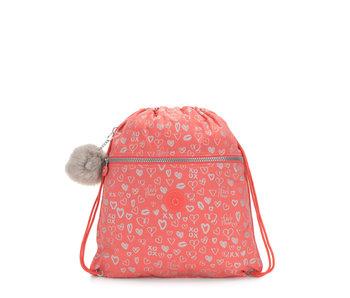 Kipling Zwemzak Supertaboo Hearty Pink 45x39,5 cm