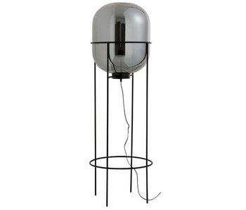 J-Line LAMP VT SASHA GL/MET ZILV/ZW L