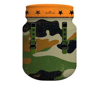 Spaarpot 'Camouflage' | 11x14.5cm