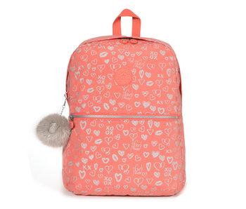 Kipling Boekentas Emery hearty pink 42x32x12.5 cm
