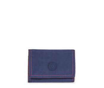 Kipling Mickylina Polish Blue 9x12,5x2 cm - Portemonnee