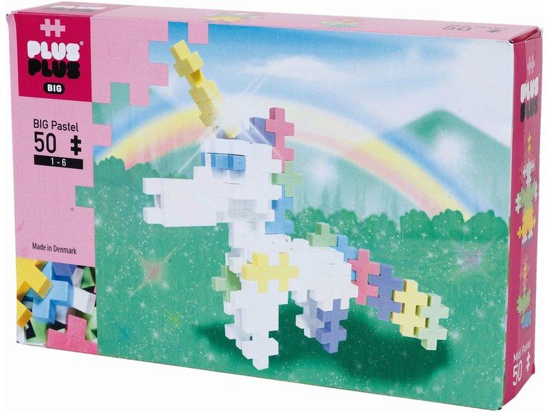 BIG Pastel Plus-Plus Eenhoorn: 50 stuks (3226)