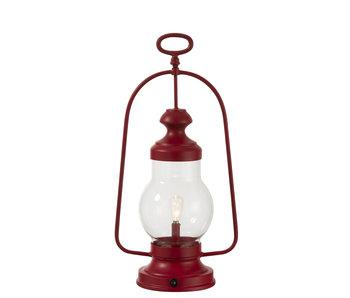 J-Line LAMP LED LANT HG HV MET/GL RD