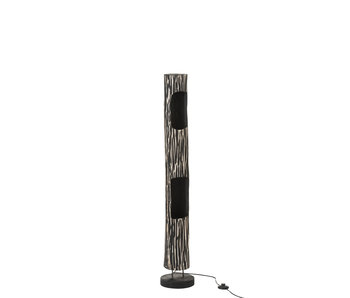 J-Line LAMP STAAND STAM 2GAT PAUL MIX