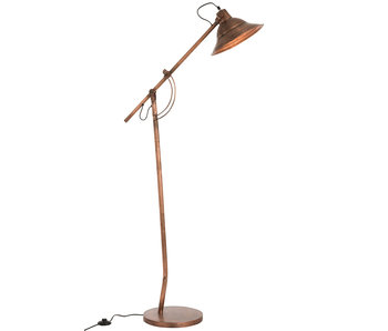 J-Line LAMP STAANDE AFGEPLAT MET KOP
