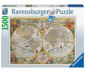 Ravensburger Wereldkaart 1594  1500