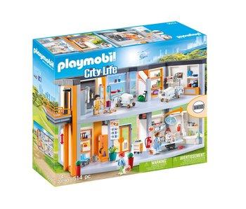 Playmobil Hopîtal aménagé 70190