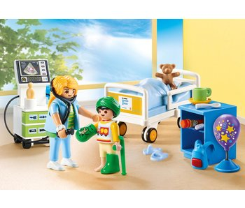 Playmobil Chambre d'hopîtal 70192