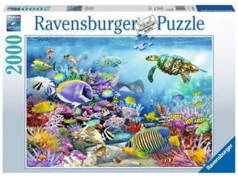Ravensburger schitterend koraalrif 2000 pc
