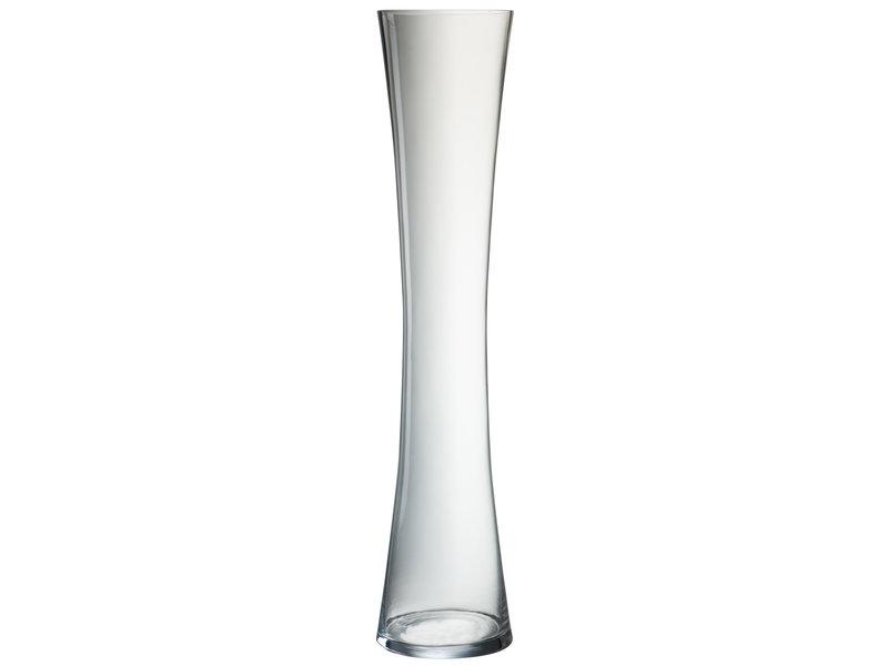 J-Line VAAS HOLLE VORM GLAS TRANSP