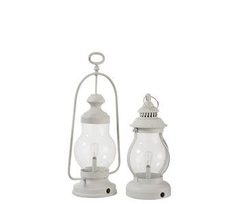 J-Line LAMP LED LANT HG HV MET/GL WIT