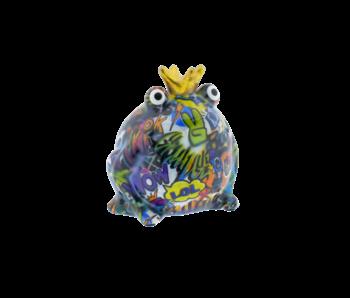 Pomme pidou Tirelire type 3 Grenouille king