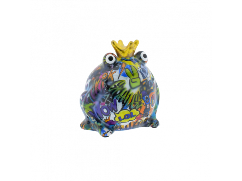 Pomme pidou Spaarpot type 3 Kikker king col. 2019