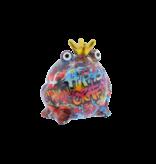 Pomme pidou Spaarpot type 1 Kikker king col. 2019