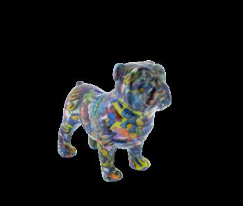 Pomme pidou Tirelire type 1 | Bulldog Anglais | col 2019