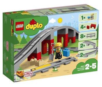 Lego duplo rails et pont du train 10872