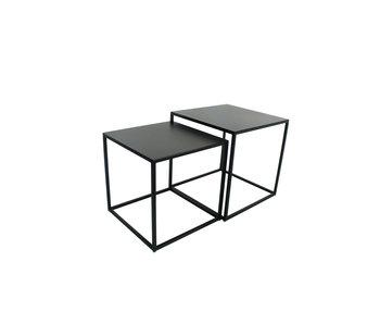 Hamilton Living Table d'appoint Ashlin L métal 40x40x40 cm