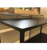 Hamilton Living Bijzettafel Elton M metaal powder black 30x30x70cm