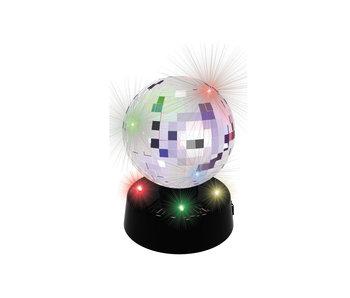 Spiegelbal 4 led 10 cm