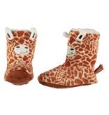 Soft hoge pantoffel giraf 34-36