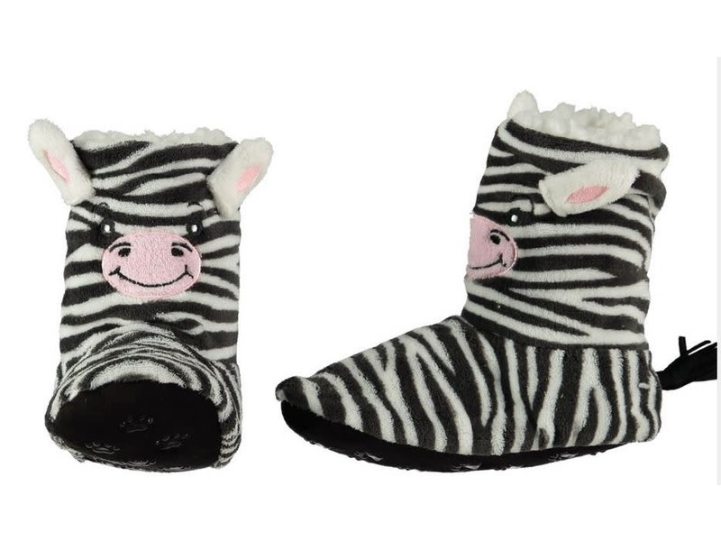 Copy of Soft hoge pantoffel zebra 34-36