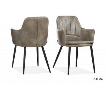 Chaise Dalma - softyl steel