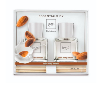 Ipuro Essentials giftset 2x50 ml milky almond