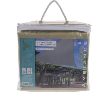 Schaduwdoek driehoek groen