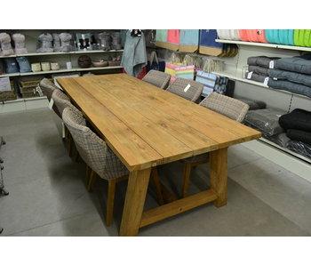 Toonzaalmodel Garda Verese tafel 250x100x76h teak