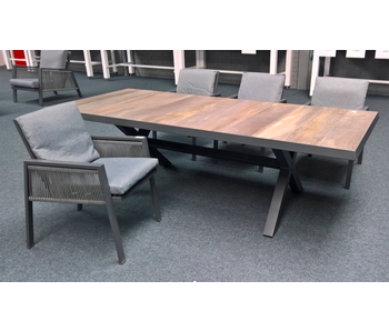 Santiago tafel 243 x 103cm