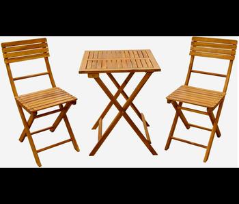 "Bistro set ""St Tropez""  acacia hardhout"
