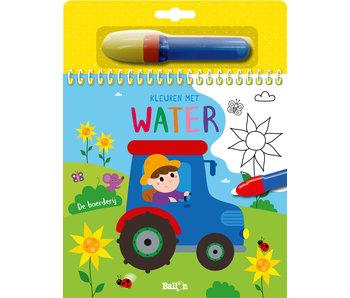 Kleuren met water- boerderij