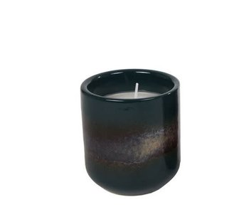 Hamilton Living Candle round Petrol 9.5x9.5x10