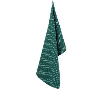 Clayre & Eef Torchon 50 * 85 cm vert