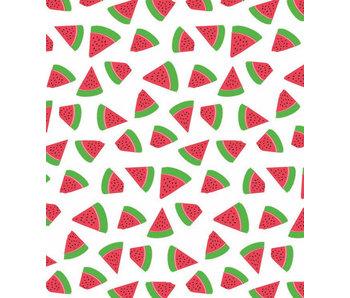 Tafellaken 160 cm rond - It's Fresh Sandia - Watermeloen
