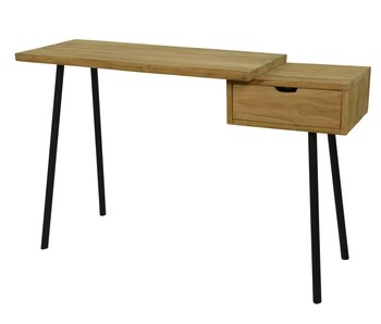 Table d'appoint Buro en teck | 120x40x78cm