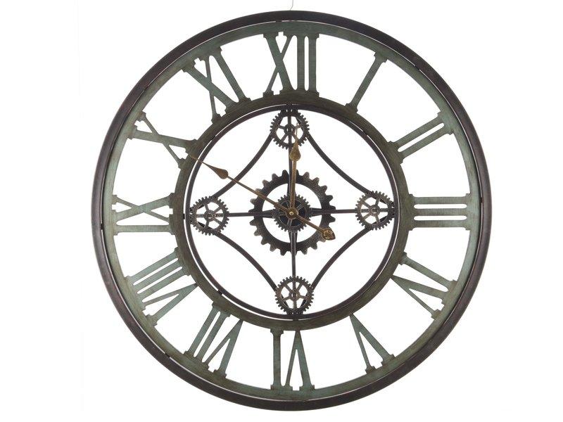 Horloge fer industriel noir | 80 cm