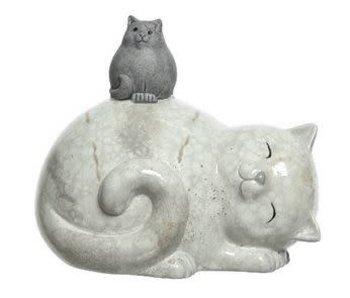 Kat kitten rug terracotta naturel