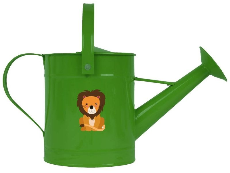 Gieter voor kinderen leeuw groen