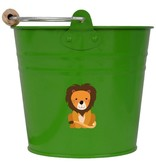 Seau enfant - vert lion