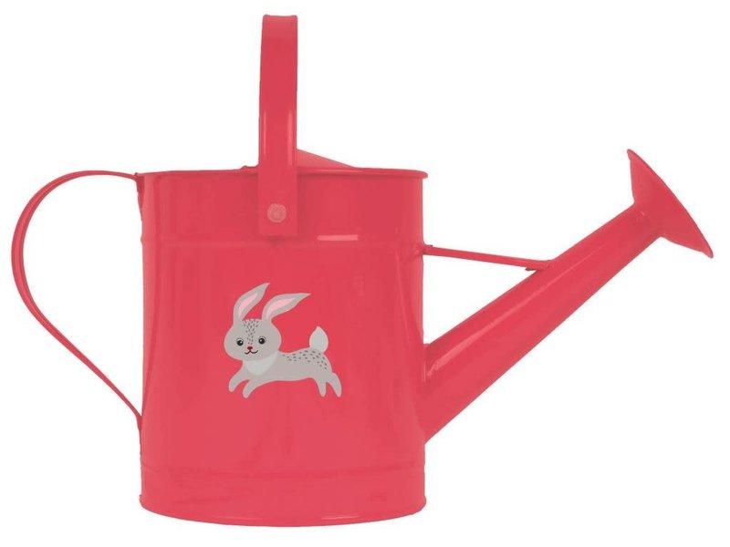 Gieter voor kinderen konijn rood
