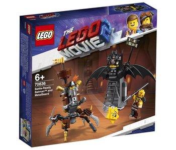 Batman en armure de combat et Barbe d'Acier 70836