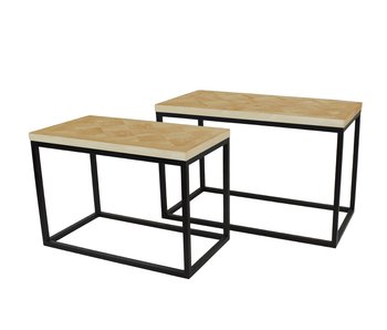 Hamilton Living Table d'appoint Viola M / 40x78x50h