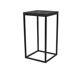 Hamilton Living Table d'appoint Dariel noir -L / 33X33X65CM